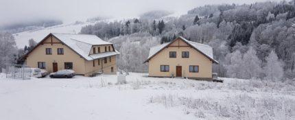 Dolní Morava pod sněhem